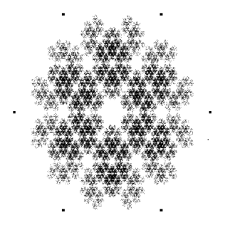 Jeu du chaos dans un hexagone